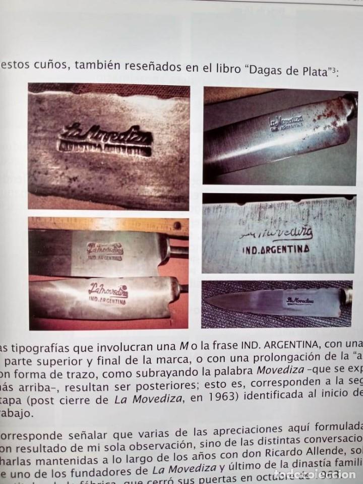 Militaria: Libro armas blancas Argentina - Foto 9 - 252401030