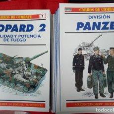 Militaria: CARROS DE COMBATE DE OSPREY MILITARY COLECCIÓN CASI COMPLETA. TOTAL DE 64 NÚMEROS. Lote 252440650