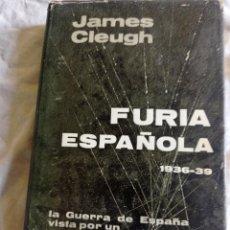 Militaria: FURIA ESPAÑOLA JAMES CLEUGH. Lote 252591185