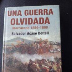 Militaria: UNA GUERRA OLVIDADA, MARRUECOS 1859-1860. Lote 252784725