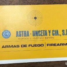 Militaria: CATALOGO PUBLICITARIO ARMAS DE FUEGO ASTRA UNCETA Y CIA. GUERNICA, BIZKAIA.. Lote 253234790
