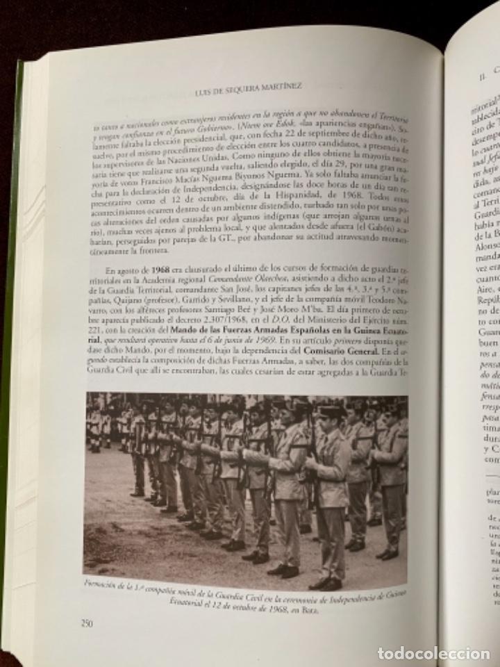Militaria: POTO POTO - LAS TROPAS DE GUARNICIÓN EN LOS TERRITORIOS ESPAÑOLES DE GUINEA POR LUIS DE SEQUERA - Foto 5 - 253442150