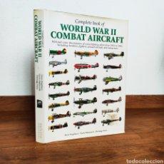 Militaria: WW2 - WORLD WAR II COMBAT AIRCRAFT 1933-1945 - AVIACION SEGUNDA GUERRA MUNDIAL - AVIONES PERFILES. Lote 254914560