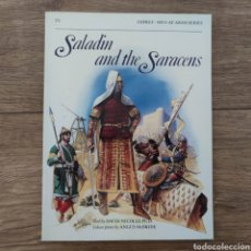 Militaria: ANTIGUEDAD - OSPREY - SALADIN AND THE SARACENS - MEN AT ARMS. Lote 255977970