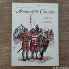 Militaria: CRUZADAS - OSPREY - ARMIES OF THE CRUSADES - MEN AT ARMS. Lote 255978395