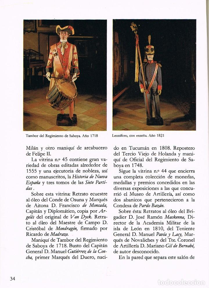 Militaria: Guia del musero del ejercito - Foto 2 - 256050235