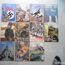 Militaria: LOTE DE ONCE CUADERILLOS ABC SOBRE LA SEGUNDA GUERRAMUNDIAL, FRANCO. Lote 256057770