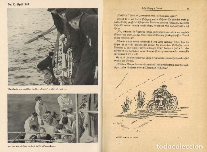 Militaria: Z13 von Kiel bis Narvik. Historia del destructor nazi Z13. 1942 - Foto 4 - 259265200