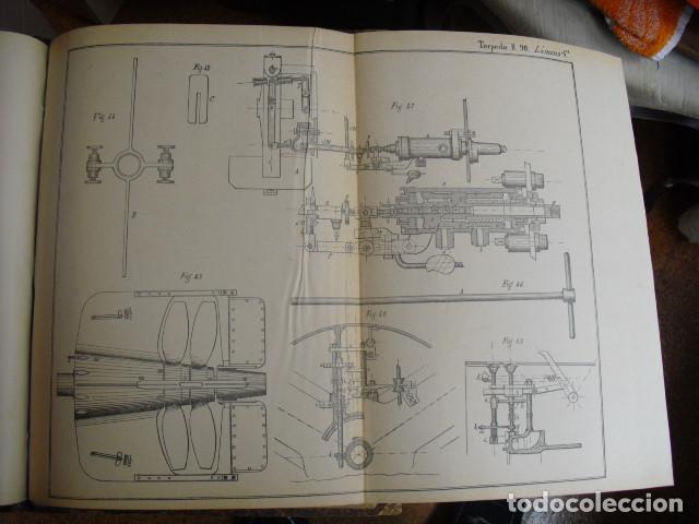 Militaria: 1904 ATLAS DE TORPEDOS AUTOMOVILES MONREAL Y QUIJANO - Foto 4 - 259712475