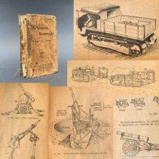Militaria: 1924 - NUEVA ARTILLERIA - MUNICION - CAÑON - MORTERO - 323 GRABADOS - THOUVENIN - L'ARTILLERIE NOUV. Lote 259875530