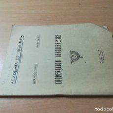 Militaria: COOPERACION AEROTERRESTRE / ACADEMIA INFANTERIA / 1965 / AH61. Lote 260720800