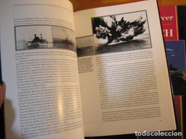 Militaria: EL TERCER REICH 13 14. TIME LIFE. MANADAS DE LOBOS LAS 2 PARTES SUBMARIMOS - Foto 4 - 261121280