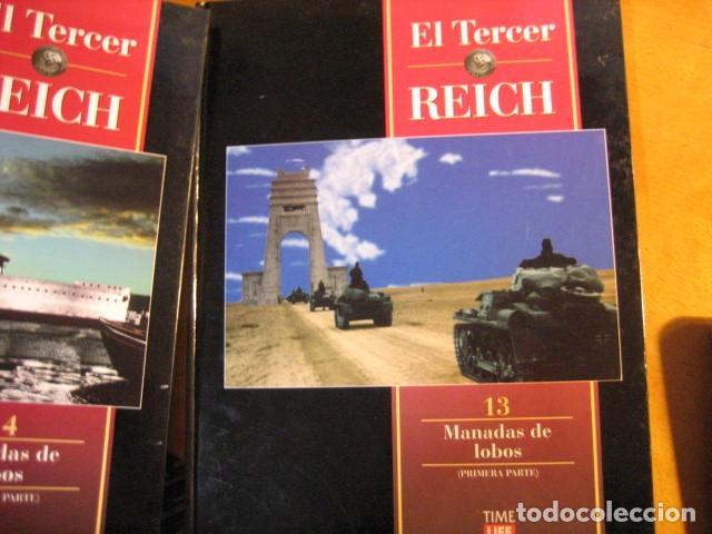 Militaria: EL TERCER REICH 13 14. TIME LIFE. MANADAS DE LOBOS LAS 2 PARTES SUBMARIMOS - Foto 10 - 261121280