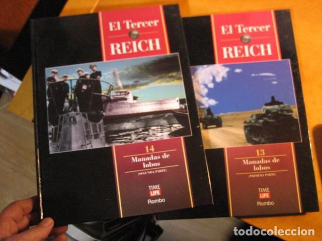 EL TERCER REICH 13 14. TIME LIFE. MANADAS DE LOBOS LAS 2 PARTES SUBMARIMOS (Militar - Libros y Literatura Militar)