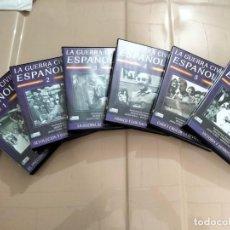 Militaria: LA GUERRA CIVIL ESPAÑOLA - GRANADA TELEVISIÓN - HUGH THOMAS - 6 DVD. Lote 261182910