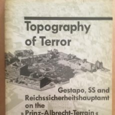 Militaria: TOPOGRAPHY OF TERROR. Lote 261954285