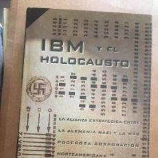 Militaria: IBM Y EL HOLOCAUSTO. Lote 261955030