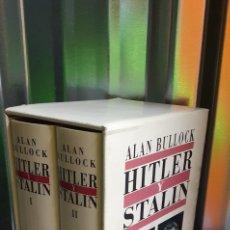 Militaria: HITLER Y STALIN. ALAN BULLOCK. Lote 262106830