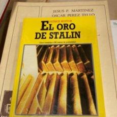 Militaria: LIBRO EL ORO DE STALIN. Lote 264540399