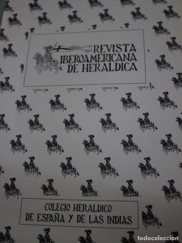 REVISTA IBEROAMERICANA DE HERALDICA - COLEGIO HERALDICO DE ESPAÑA Y DE LAS INDIAS Nº2 (Militar - Libros y Literatura Militar)
