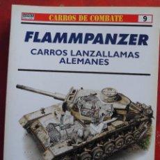 Militaria: FLAMMPANZER. CARROS LANZALLAMAS ALEMANES. Lote 269831793