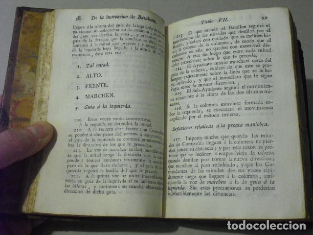 Militaria: C. 1800 INSTRUCCION DE BATALLONES XXVII LAMINAS DESPLEGABLES - Foto 5 - 270368233