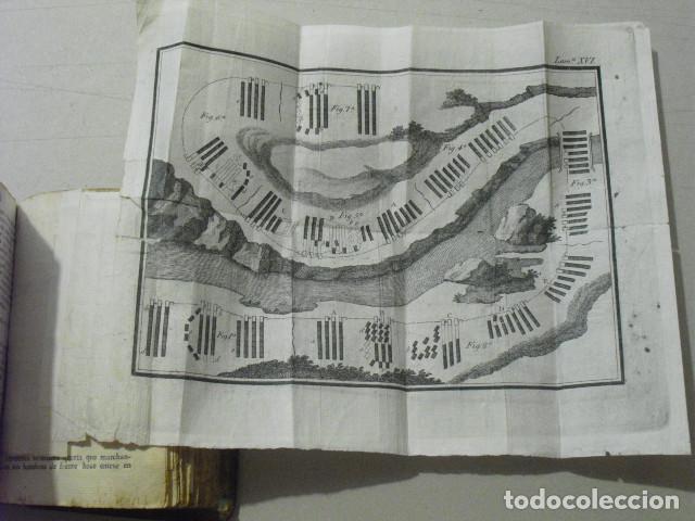 Militaria: C. 1800 INSTRUCCION DE BATALLONES XXVII LAMINAS DESPLEGABLES - Foto 6 - 270368233