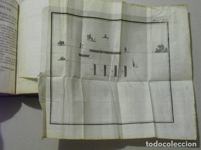 Militaria: C. 1800 INSTRUCCION DE BATALLONES XXVII LAMINAS DESPLEGABLES - Foto 7 - 270368233
