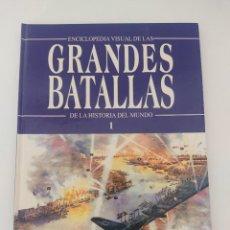 Militaria: ENCICLOPEDIA DE GRANDES BATALLAS Nº 1. Lote 271621463