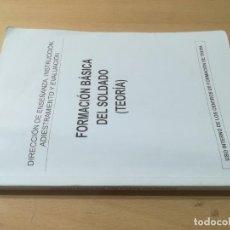 Militaria: FORMACION BASICA SOLDADO / TEORIA / INSTRUCCIÓN ADIESTRAMIENTO Y EVALUCACION / AI59. Lote 272251973