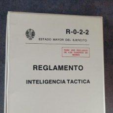 Militaria: REGLAMENTO INTELIGENCIA TÁCTICA ESTADO MAYOR DEL EJÉRCITO. Lote 272639243