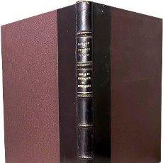 Militaria: ENSAYO DE BIBLIOGRAFÍA DE INTENDENCIA (ENCUADERNACIÓN HOLANDESA. BUEN ESTADO.. Lote 274449463