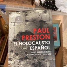 Militaria: LIBRO EL HOLOCAUSTO ESPAÑOL. Lote 275608283
