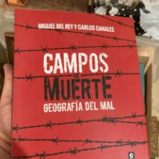 Militaria: LIBRO CAMPOS DE MUERTE. Lote 275796208