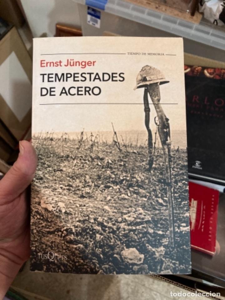 LIBRO TEMPESTADES DE ACERO (Militar - Libros y Literatura Militar)