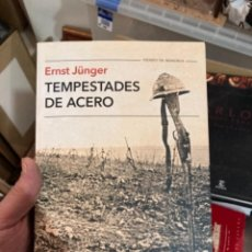 Militaria: LIBRO TEMPESTADES DE ACERO. Lote 275796293