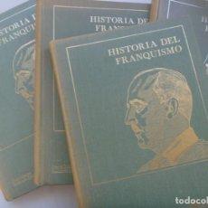 Militaria: HISTORIA DEL FRANQUISMO , DE DANIEL SUEIRO Y BERNARDO DIAZ NOSTY. SEDMAY EDICIONES. 4 TOMOS. Lote 276025948
