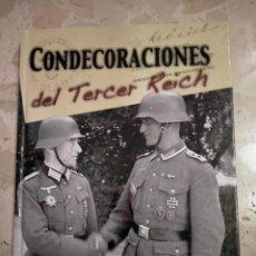 Militaria: LIBRO CONDECORACIONES DEL TERCER REICH. Lote 276093818