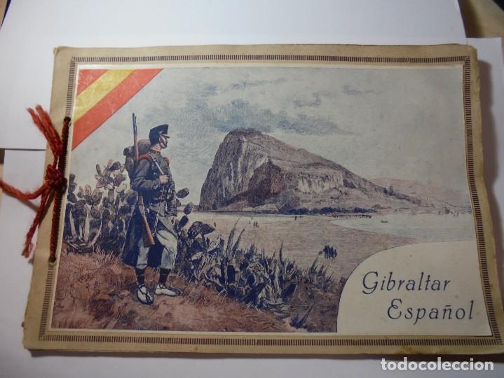 MAGNIFICO LIBRO GIBRALTAR ESPAÑOL RESEÑA GRAFICA DE UNA PARTE DE NUESTRO TERRITORIO NACIONAL DE 1940 (Militar - Libros y Literatura Militar)