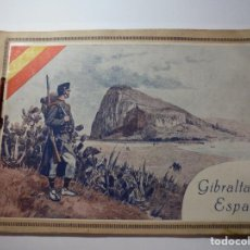 Militaria: MAGNIFICO LIBRO GIBRALTAR ESPAÑOL RESEÑA GRAFICA DE UNA PARTE DE NUESTRO TERRITORIO NACIONAL DE 1940. Lote 276222633