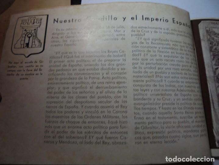 Militaria: magnifico libro gibraltar español reseña grafica de una parte de nuestro territorio nacional de 1940 - Foto 3 - 276222633