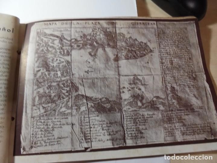 Militaria: magnifico libro gibraltar español reseña grafica de una parte de nuestro territorio nacional de 1940 - Foto 4 - 276222633