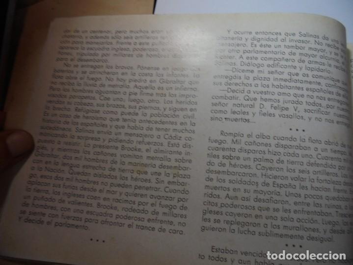 Militaria: magnifico libro gibraltar español reseña grafica de una parte de nuestro territorio nacional de 1940 - Foto 7 - 276222633