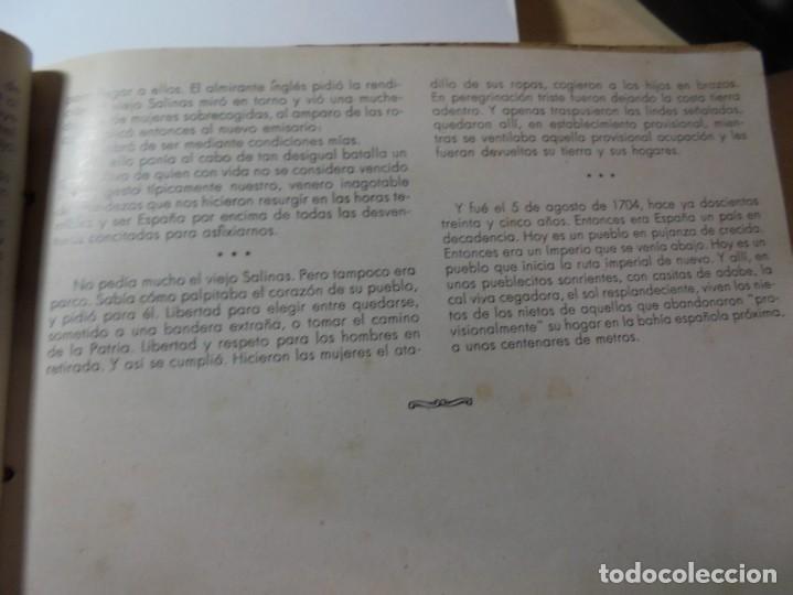 Militaria: magnifico libro gibraltar español reseña grafica de una parte de nuestro territorio nacional de 1940 - Foto 8 - 276222633