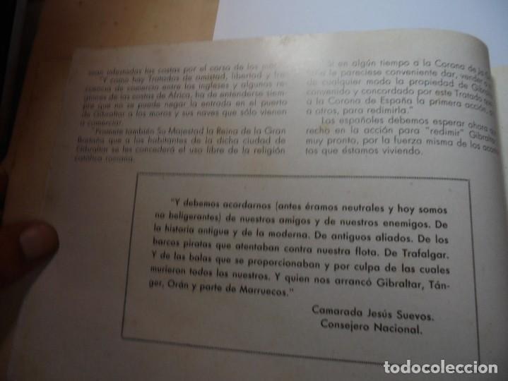 Militaria: magnifico libro gibraltar español reseña grafica de una parte de nuestro territorio nacional de 1940 - Foto 11 - 276222633