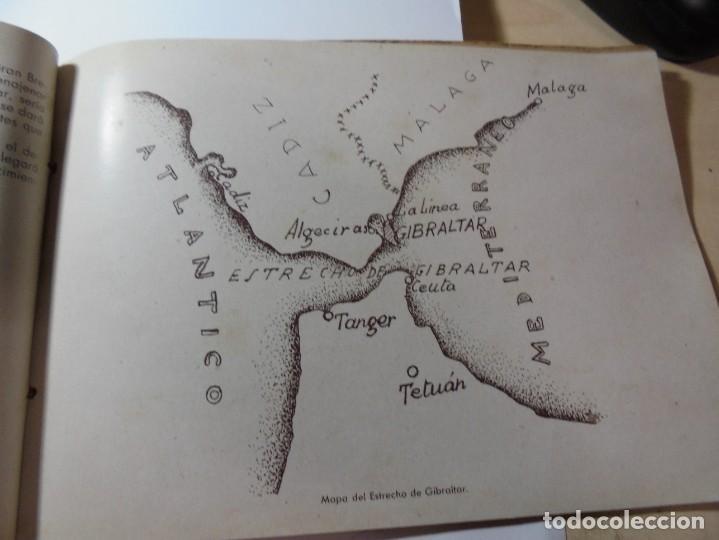 Militaria: magnifico libro gibraltar español reseña grafica de una parte de nuestro territorio nacional de 1940 - Foto 12 - 276222633