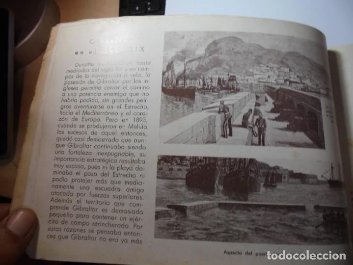 Militaria: magnifico libro gibraltar español reseña grafica de una parte de nuestro territorio nacional de 1940 - Foto 15 - 276222633