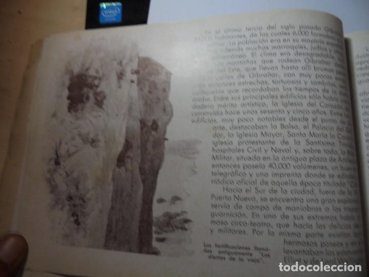 Militaria: magnifico libro gibraltar español reseña grafica de una parte de nuestro territorio nacional de 1940 - Foto 17 - 276222633
