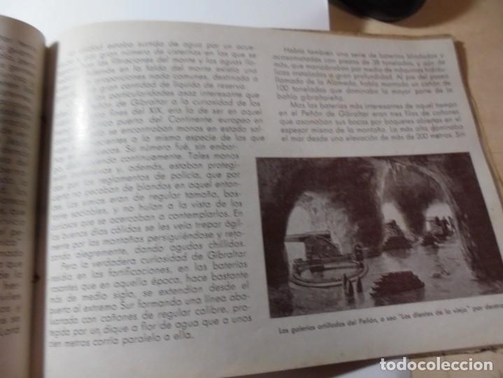 Militaria: magnifico libro gibraltar español reseña grafica de una parte de nuestro territorio nacional de 1940 - Foto 18 - 276222633