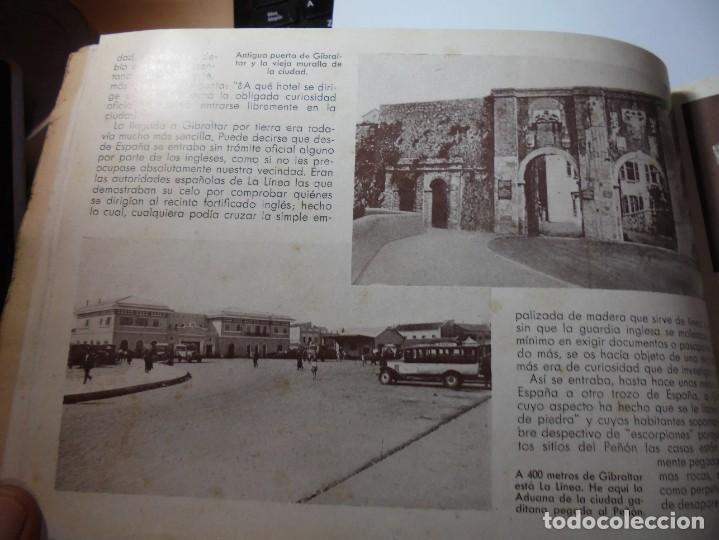 Militaria: magnifico libro gibraltar español reseña grafica de una parte de nuestro territorio nacional de 1940 - Foto 21 - 276222633